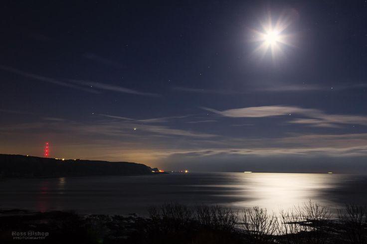 Folkestone Warren by moonlight 2... by Ross Bishop on 500px