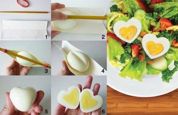 Романтический завтрак в День Святого Валентина