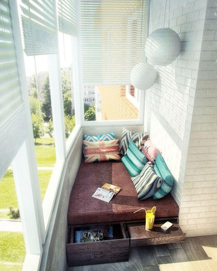 узкий балкон - Google Search