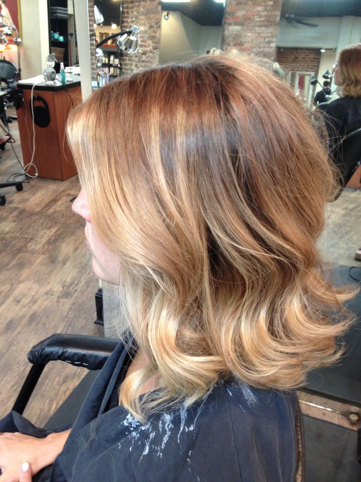 Absolutely Gorgeous Warm Balayage Obsessed With This