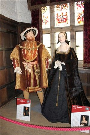 Anne Boleyns Childhood Home  Hever Castle Henry and