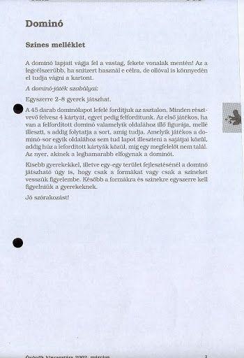 C1-3 - Dominó - Angela Lakatos - Picasa Webalbumok