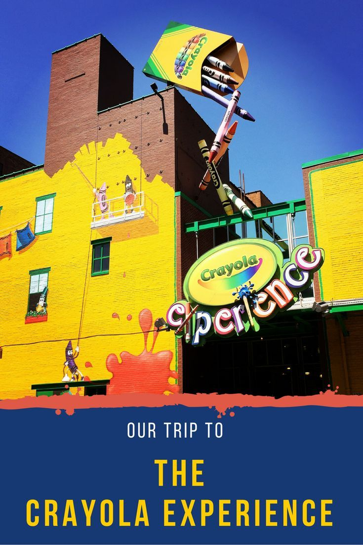 The Crayola Experience is a fun, indoor play place for kids.  Learn tips and trick for visiting the Crayola Experience in Easton, Pennsylvania.  It's a fun place to visit with kids near Allentown, Pennsylvania. #crayola #crayolaexperience #indoorplay