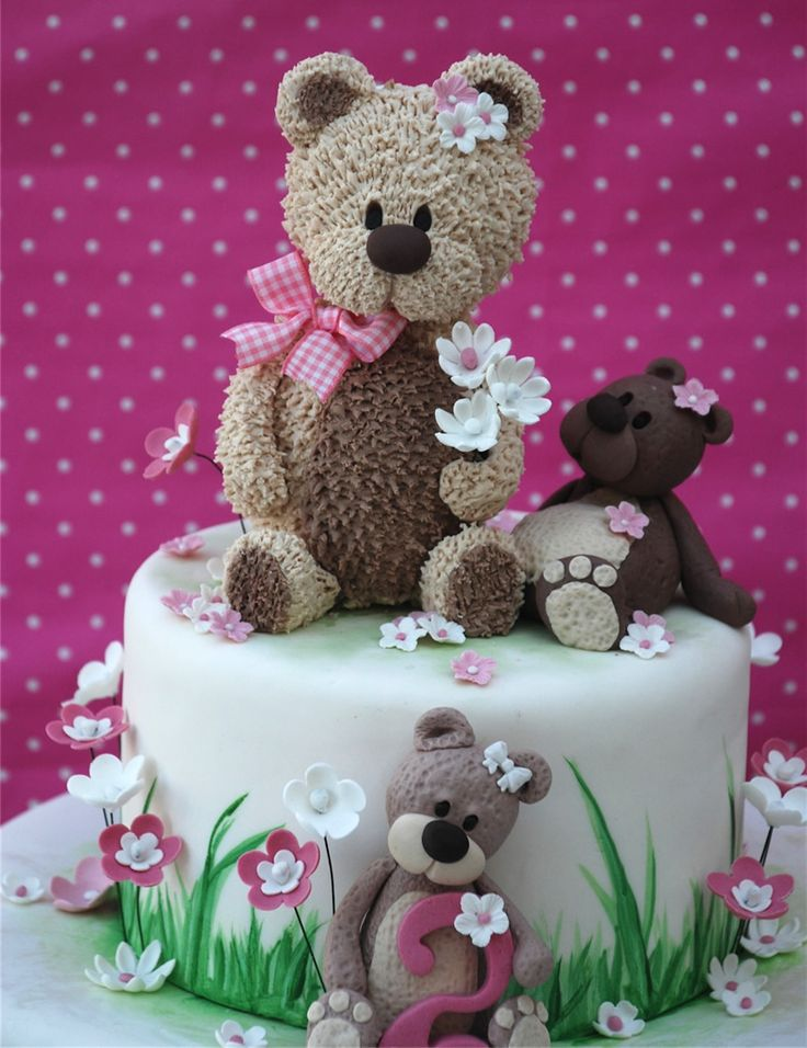 Cake Design Teddy Bear : 183 best images about D # Disney cakes - Teddy-bear on ...