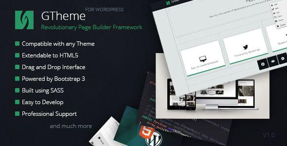 GTheme - Revolutionary WP Page Builder Framework