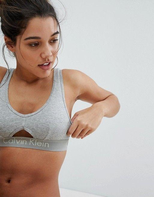 4d1da71428a59a Calvin Klein body unlined bralette in 2019