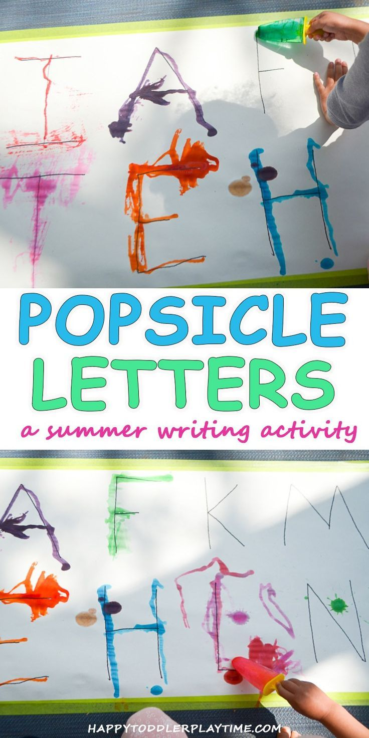 Popsicle Letters – HAPPY TODDLER PLAYTIME
