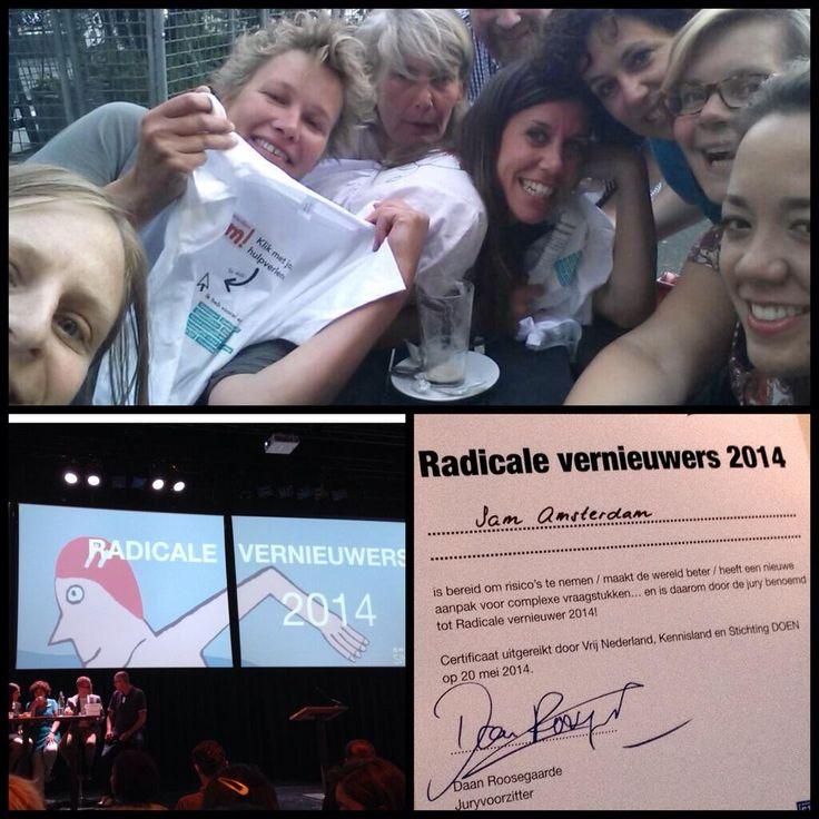Sam is één van de radicale vernieuwers van Nederland!
