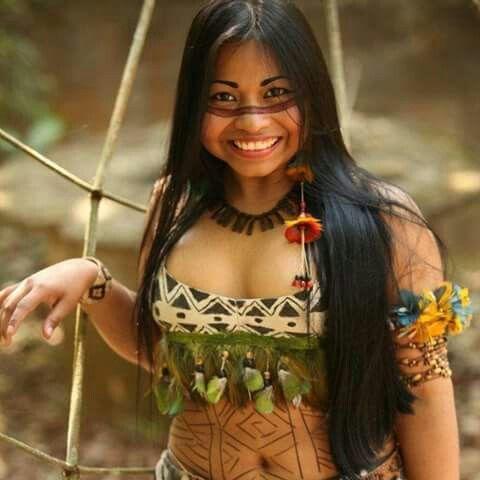 beautiful tribal south american women