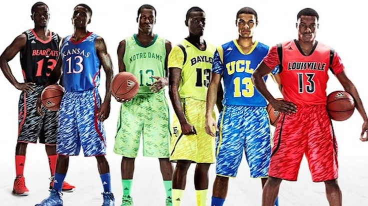 An unveiling of some, uh, creative new Adidas basketball uniforms Thursday was widely -- and hilariously -- panned by the online peanut gallery.