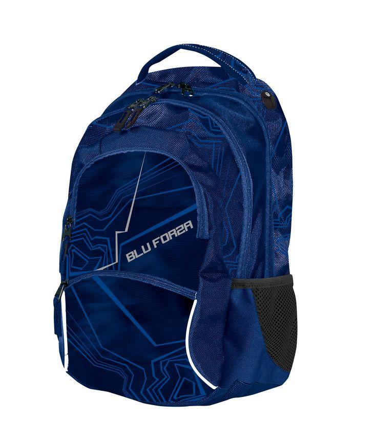 School Bag Blu Forza/ Školní batoh Blu Forza