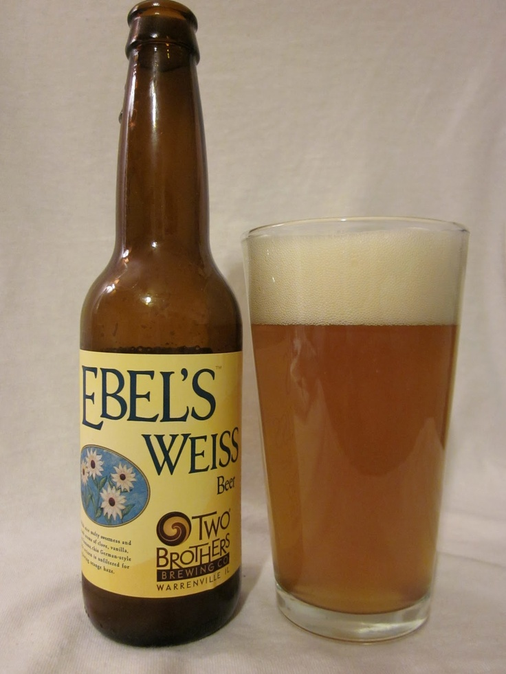 Two Brothers Ebel's Weiss. 4.9abv. Good carbonation light straw opaque yellow. A faint wheat scent. Lemon flavor is like a lemonade on a hot summer day. Ends tart due to the lemon highlight. A little heavy for a wheat beer.