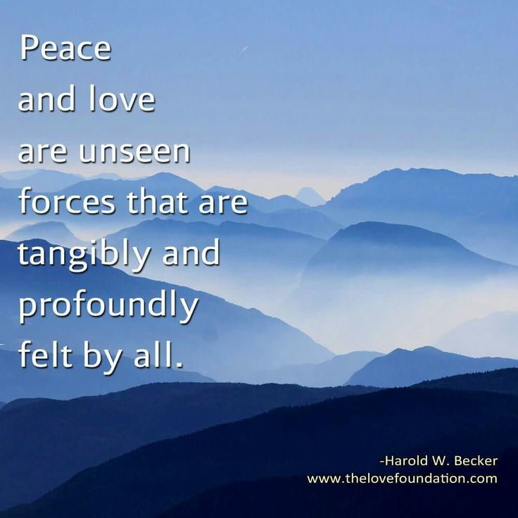 Quotes About Peace And Love Amazing Even The Words Are Filled With Peace And Love  Let Love Be The