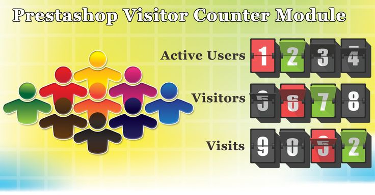 How many visitors visited your site today? Get to know and also make your site visitors aware of your site's popularity with the Prestashop visitor counter module. http://www.modulebazaar.com/en/prestashop-visitor-counter.html