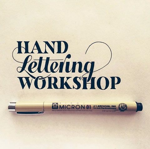 Inspiration Hand Lettering avec Sean McCabe