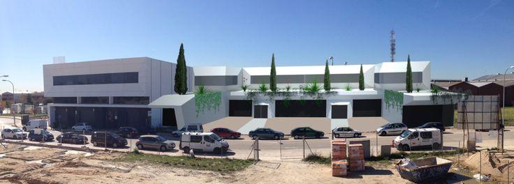 Proyecto de construcción de ) naves industriales en Poligono Industrial Ventorro del cano (ALCORCON  MADRID) ESPAÑA