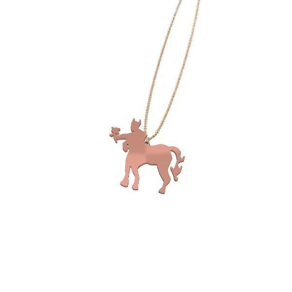 Centaur With a Flower Necklace (pendant)