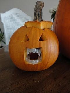 Halloween# Pumpkin Carving Ideas# DIY Pumpkin# Vampire Pumpkin