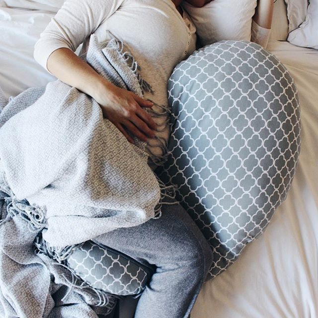 Because sleeping while almost  months pregnant is no easy feat hello numbness  hip pain Seriously SO thankful for my soft boppycompany pregnancy support pillow Now I can catch some zzzzs  be ready to chase after my toddler tornado in the morning  boppylove sharemyboppy partner pregnancypillow ad