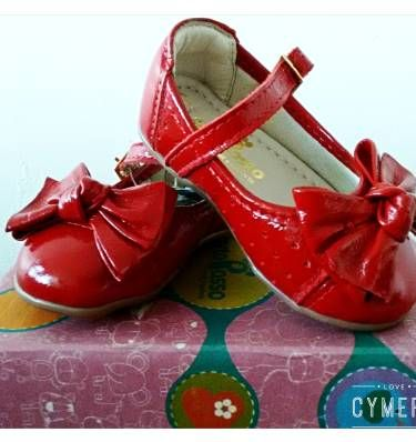 sapato ortopasso vermelho verniz menina - menina ortopasso
