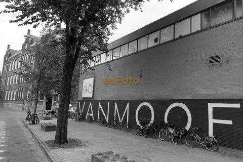 Vanmoof bikes in Amsterdam.