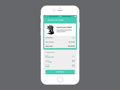 Mobile checkout concept
