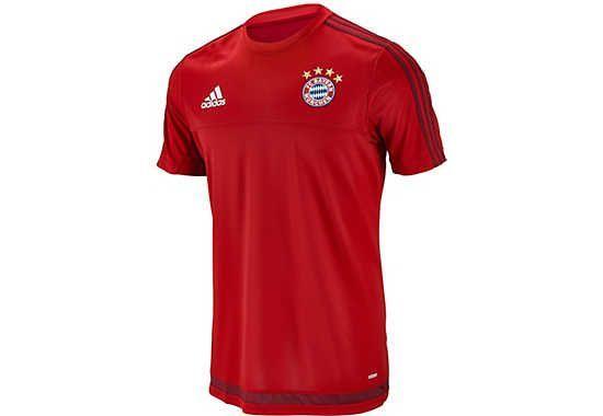 adidas Bayern Munich Training Jersey - Red