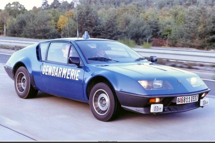 Alpine A310 French Gendarmerie
