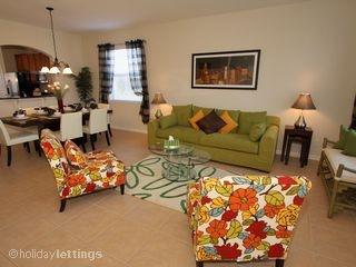Living Room @ Windsor Hills Orlando