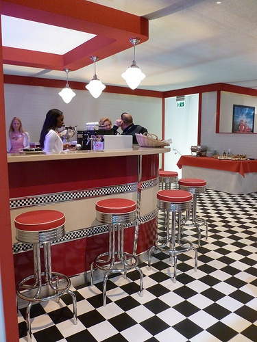 483 Best Images About Diner Interior Photos On Pinterest