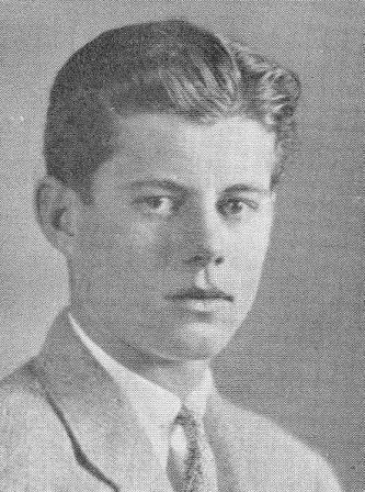 1935. John F. Kennedy. Choate