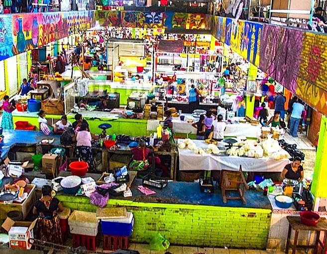 mercado juchitan oaxaca mexico   Encontrará platillos típicos de la región como: carne y tamales de ...