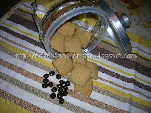 Biscottini al Caffè e Cannella con solo Tuorli d'Uovo
