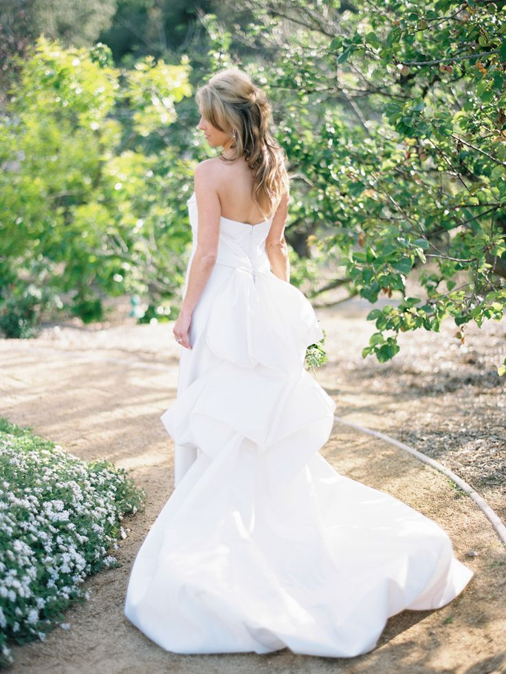 that bustle! | Anna Maier wedding gown | Ashley Kelemen Photography