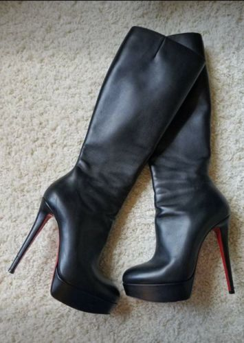 detailed look 8ea0d 1619d Christian Louboutin Bianca Botta Boots 39/9 | Louboutin only.