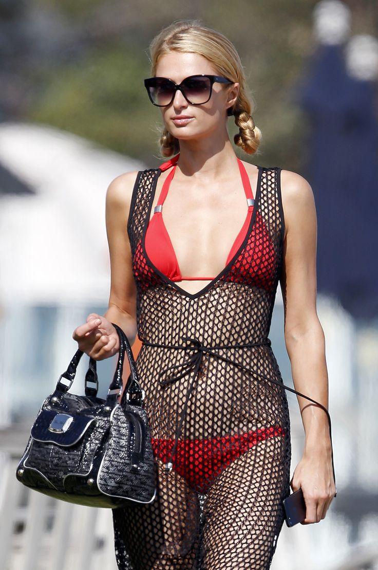 PHOTOS Paris Hilton Bikini Candids à Malibu - Photos Paris Hilton