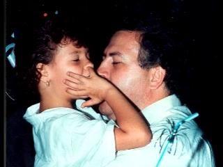 Pablo Escobar and daughter Manuela