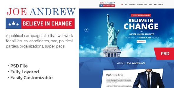 Wppoliticalz  Election Campaign Political Wordpress Theme