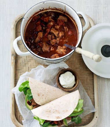 Pork Chilli Con Carne recipe, brought to you by MiNDFOOD.