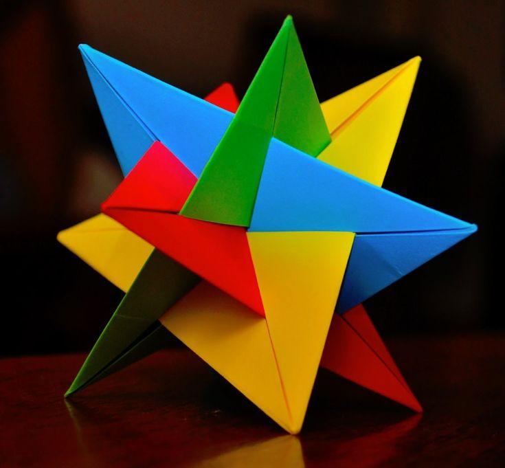 http://artekusudama.blogspot.com.es/ How to make a beautiful kusudama Tutoriales para construir bonitas bolas de origami, kusudama