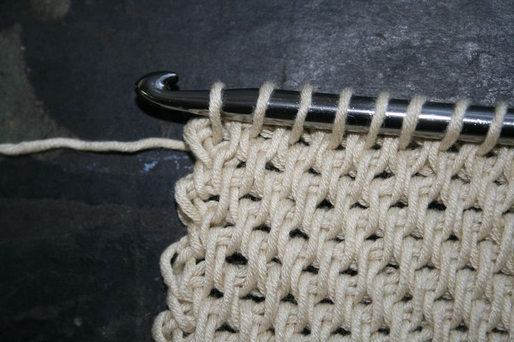 Tunisian Full Stitch …