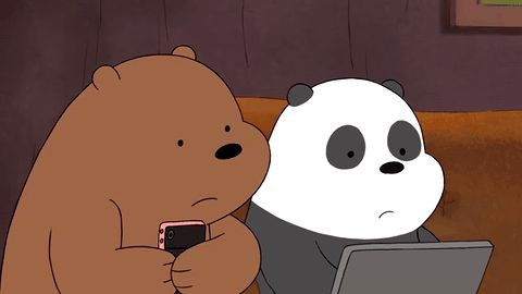 New trendy GIF/ Giphy. bear panda nsfw link gore do not want dislike grossed out disturbed oh god no Traumatized cannot unsee cover eyes ew gross. Let like/ repin/ follow @cutephonecases