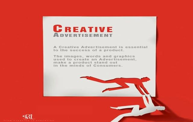 A creative advertisement is essential to the success of a product. The images, words and graphics used to create an advertisement make a product stand out in the minds of consumers.