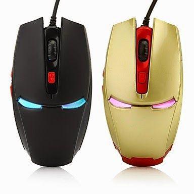 comprar ratón de Iron Man