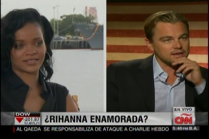 ¿Algo Entre Rihanna Y Leonardo Di Caprio? #Video