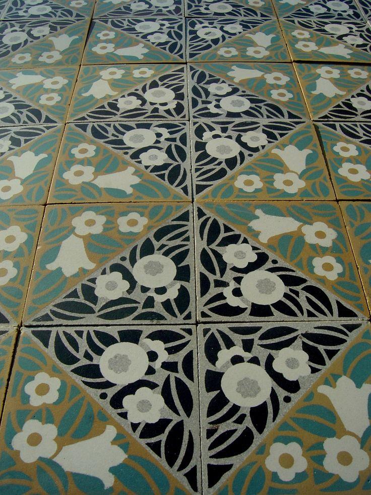 Best 25 1920s kitchen ideas on pinterest 1920s house for 1930 floor tiles