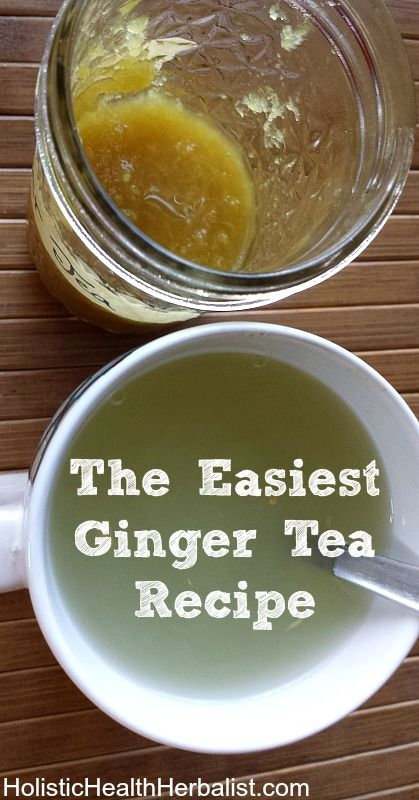 The Easiest Ginger Tea Recipe I have ever made AND the tastiest. This tea is warming and delicious!