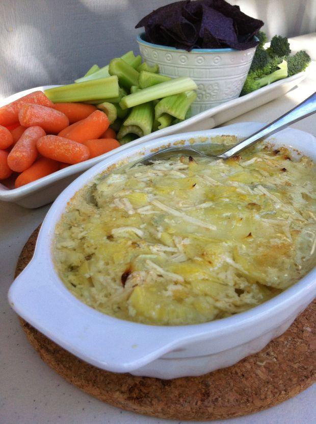 artichoke dip vegan style!