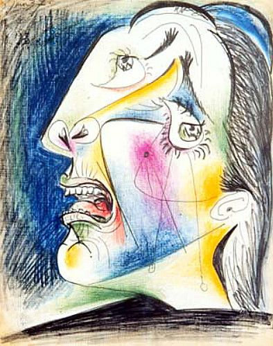 Pablo Picasso, Crying Woman, 1937♥♥♥
