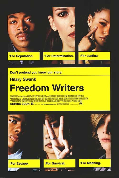 book report on the freedom writers Freedom writers: a movie review freedom writers: a movie review tvp editorial january 25, 2010 cinema 0 comments based on the book, 'the freedom writers diary' by erin gruwell, it has been directed by richard lagravenese, more known as an acclaimed, academy award nominated screenwriter.